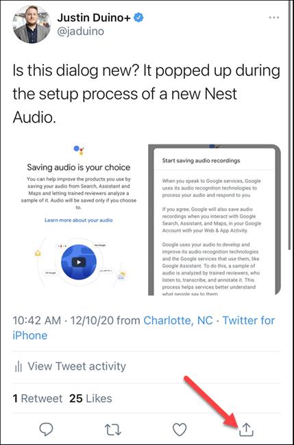 چگونه توییت های توییتر را در استوری اسنپ چت به اشتراک بگذاریم