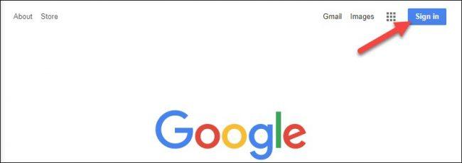 نحوه تغییر دادن حساب پیش فرض گوگل در وب