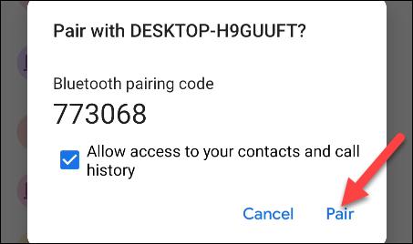 نحوه برقراری تماس از ویندوز 10 با استفاده از تلفن اندروید