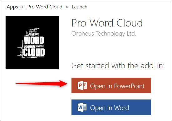 نحوه ایجاد ابر کلمات (Cloud Word) در مایکروسافت پاورپوینت