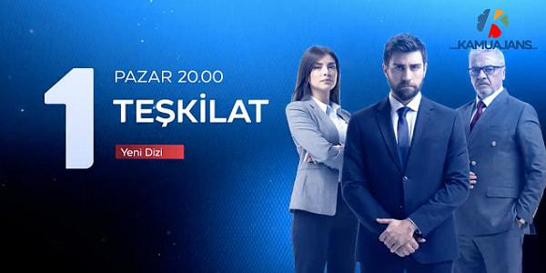 خلاصه داستان سریال ترکی Teskilat ( سازمان ، تشکیلات )