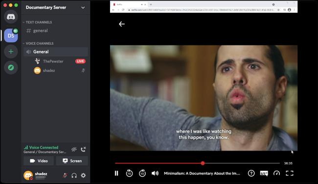 نحوه استفاده از دیسکورد برای تماشای فیلم با دوستان