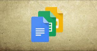 نحوه مشاهده تغییرات اخیر در گوگل داکس ، گوگل شیت یا گوگل اسلاید