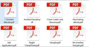 فایل پی دی اف چیست و چگونه یک فایل PDF را باز کرد