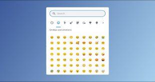 تایپ ایموجی (Emoji) در کروم بوک