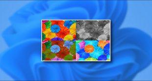 استفاده از فیلترهای رنگ در ویندوز 11