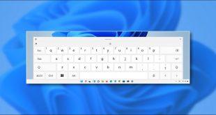 نحوه غیرفعال کردن تصحیح خودکار صفحه کلید لمسی در ویندوز 11